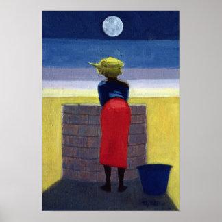 Soirée éclairée par la lune 2001 posters