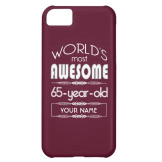 soixante-cinquième D anniversaire des mondes rouge Coques iPhone 5C