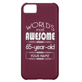 soixante-cinquième D'anniversaire des mondes rouge Coques iPhone 5C