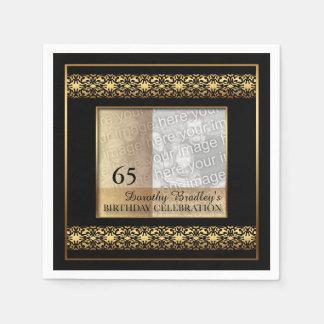 soixante-cinquième Serviettes de papier de photo Serviette En Papier