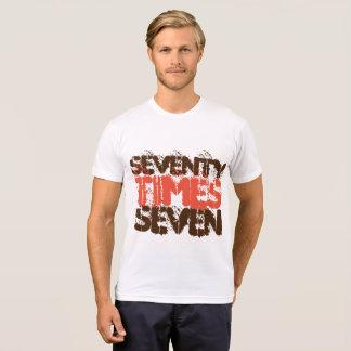 Soixante-dix fois la rémission sept t-shirt