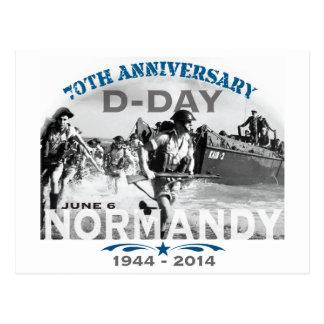 Soixante-dixième anniversaire de le jour J de la Carte Postale