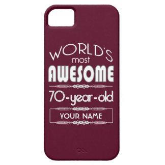 soixante-dixième D anniversaire des mondes rouge Coque Case-Mate iPhone 5