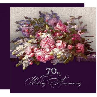 soixante-dixième Invitations de fête