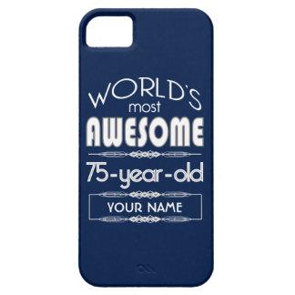 soixante-quinzième D anniversaire des mondes Étuis iPhone 5