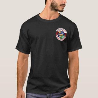 soixante-quinzième T-shirt noir de MAS