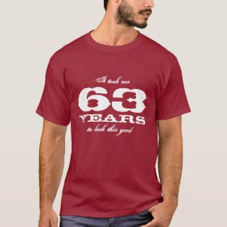 soixante-troisième Nombre personnalisable d'année T-shirt
