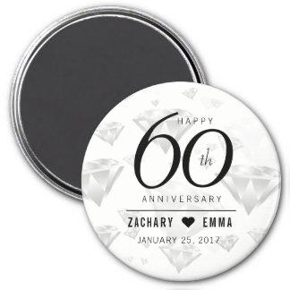 Soixantième anniversaire de noces de diamant aimant