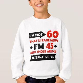 soixantième cadeaux d'anniversaire an sweatshirt