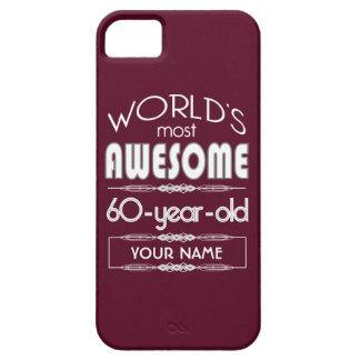 soixantième D anniversaire des mondes rouge foncé Coque Case-Mate iPhone 5