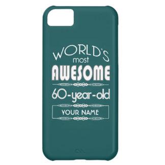 soixantième D'anniversaire des mondes vert-foncé Coques Pour iPhone 5C