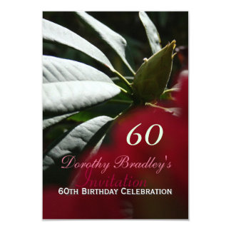 soixantième Invitation de rhododendron de