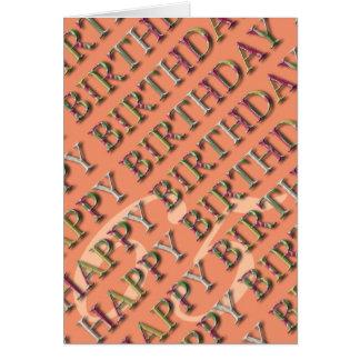 soixantième Salutation d'anniversaire avec des Carte De Vœux