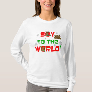 Soja au monde t-shirt