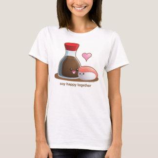 Soja heureux t-shirt