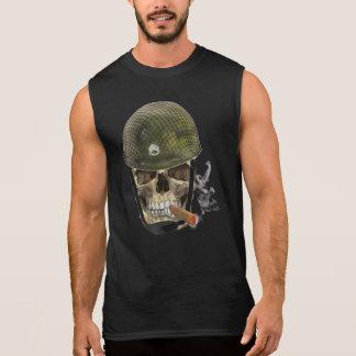 Soldat de crâne t-shirt sans manches