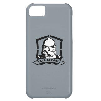 Soldat de la cavalerie de clone noir et blanc coque iPhone 5C