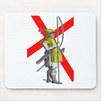 Soldat d'infanterie anglais tapis de souris