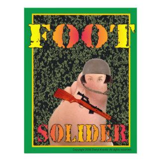 Soldat d'infanterie prospectus
