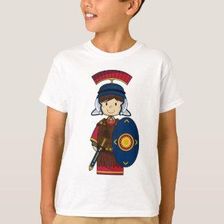 Soldat romain avec le T-shirt de bouclier