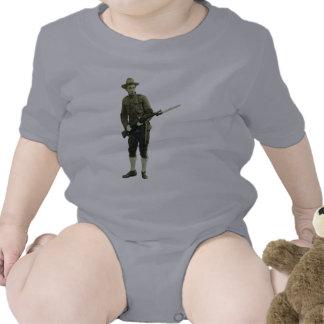 Soldat vintage de Doughboy de Première Guerre Bodies