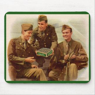 soldats d'annonce de 2ÈME GUERRE MONDIALE des Tapis De Souris