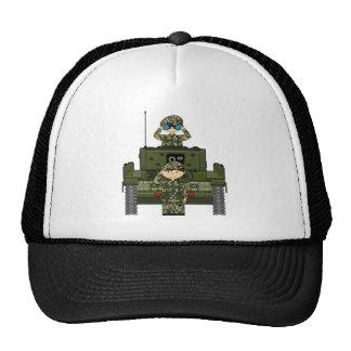 Soldats d'armée britannique et casquette de