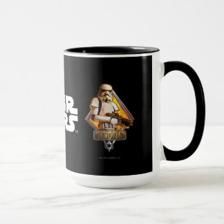 Soldats de la cavalerie de tempête graphiques mug