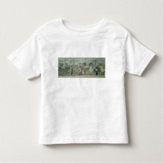 Soldats français blessés entrant dans Paris T-shirts
