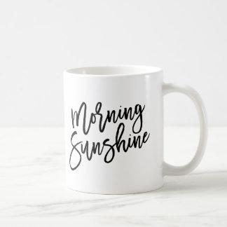 Soleil de matin mug blanc