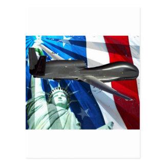 SOLÉNOÏDE D'UAV ETATS-UNIS CARTE POSTALE