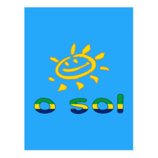 Solénoïdes d'O - The Sun dans des vacances d'été Cartes Postales