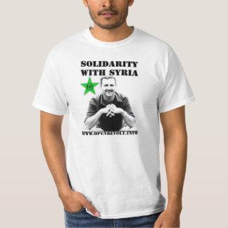 Solidarité avec la Syrie T-shirt