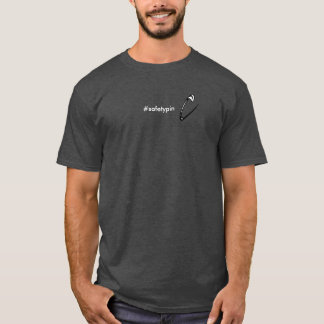 Solidarité de goupille de sécurité t-shirt