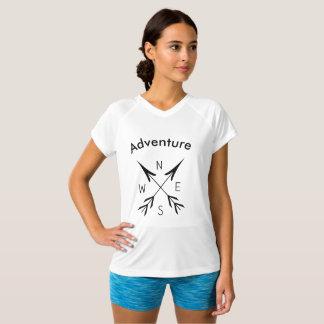 SOLIDES TOTAUX Double-Secs de V-Cou de la T-shirt