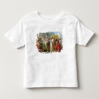 Solomon avant l'arche de l'engagement, 1747 t-shirt pour les tous petits