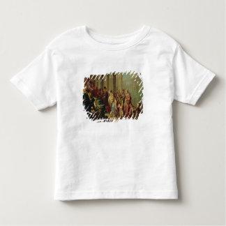 Solomon et la reine de Sheba, ou Esther avant A T-shirt Pour Les Tous Petits