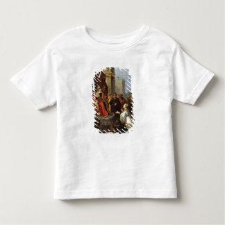 Solomon et la reine de Sheba T-shirt Pour Les Tous Petits