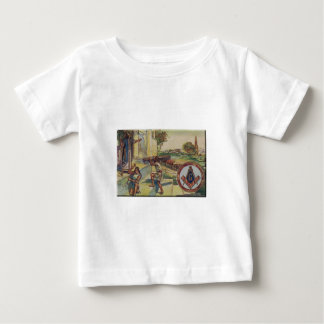 solomontemplemason t-shirt pour bébé
