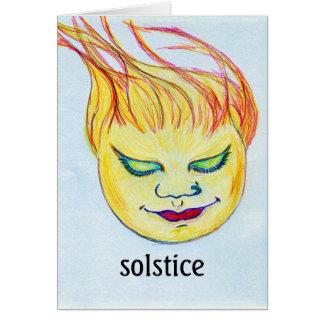 solstice d'été carte de vœux