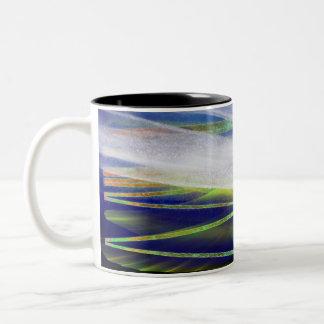 """Solstice d'hiver"""" tasse de café légère """"arctique"""