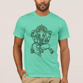 Solvant de Ganesh des obstacles T-shirt
