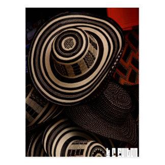 Sombrero Vueltiao : carte postale