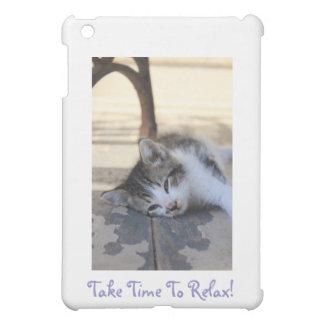 sommeil de chaton coques pour iPad mini