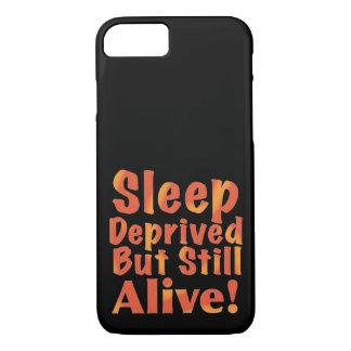 Sommeil déshérité mais encore vivant dans des tons coque iPhone 7