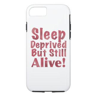 Sommeil déshérité mais encore vivant en framboise coque iPhone 7