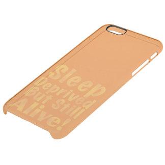 Sommeil déshérité mais encore vivant en jaune coque iPhone 6 plus