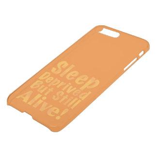 Sommeil déshérité mais encore vivant en jaune coque iPhone 7 plus