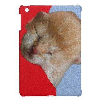 Sommeil mignon de chaton étui iPad mini