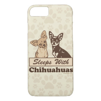 Sommeils avec des chiwawas coque iPhone 7
